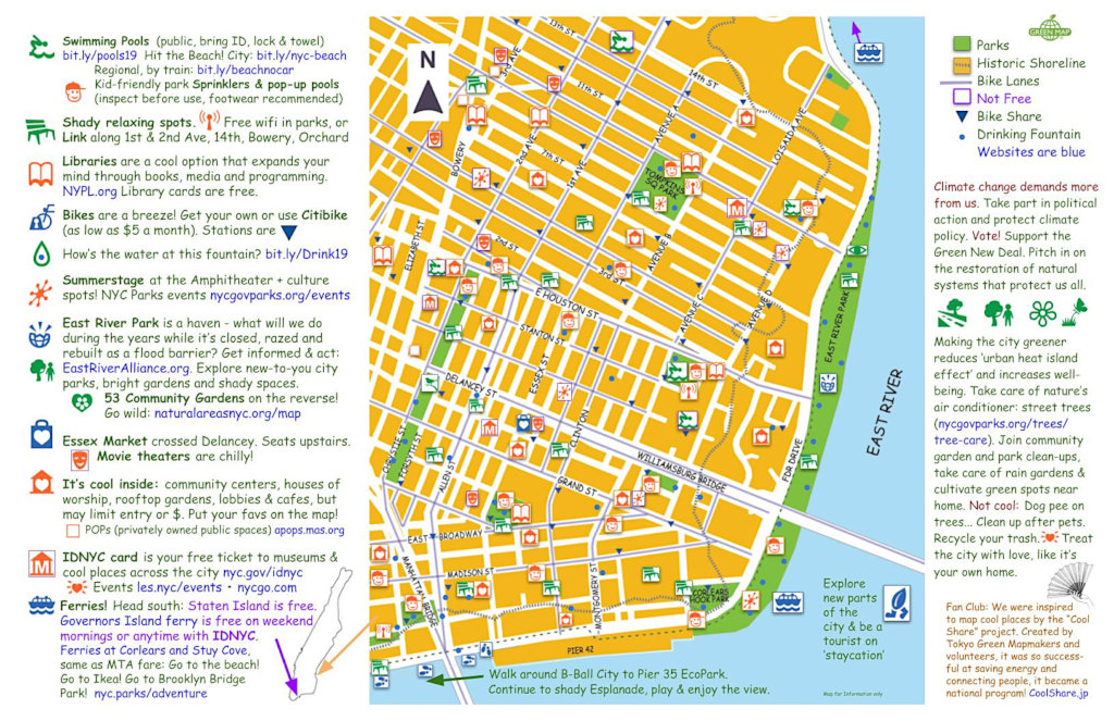 Refresh LES - the coolest NYC Green Map!