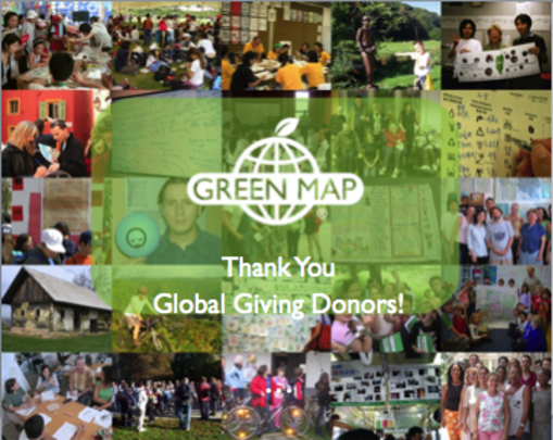 Green Map Thanks YOU!
