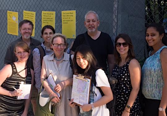 Hola LES! Green Mapmaking workshop, June 24, 2015