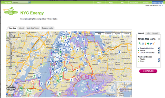 Sandy's highwater mark is on our interactive map