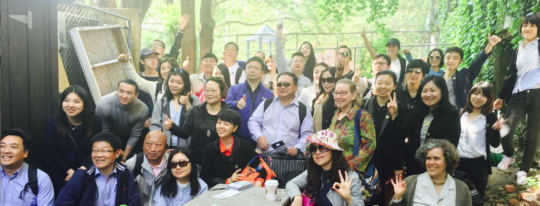 40 Chinese SEE members on the Hola LES Tour