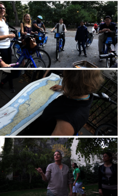 Our Climate Week Bike Tour, with Citibikes