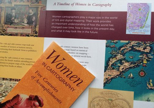 Women in Cartography Exhibit - Boston Public Lib