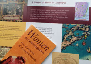 Women in Cartography Exhibit - Boston Public Lib