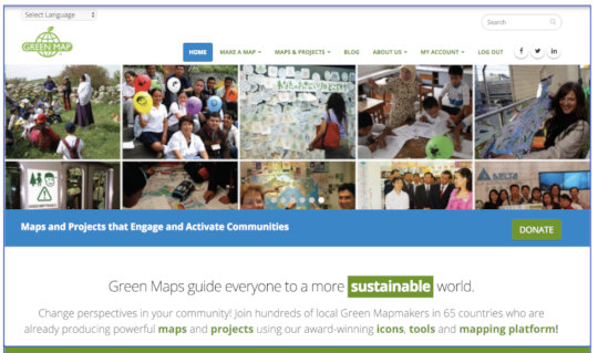 GreenMap.org - check out our new website