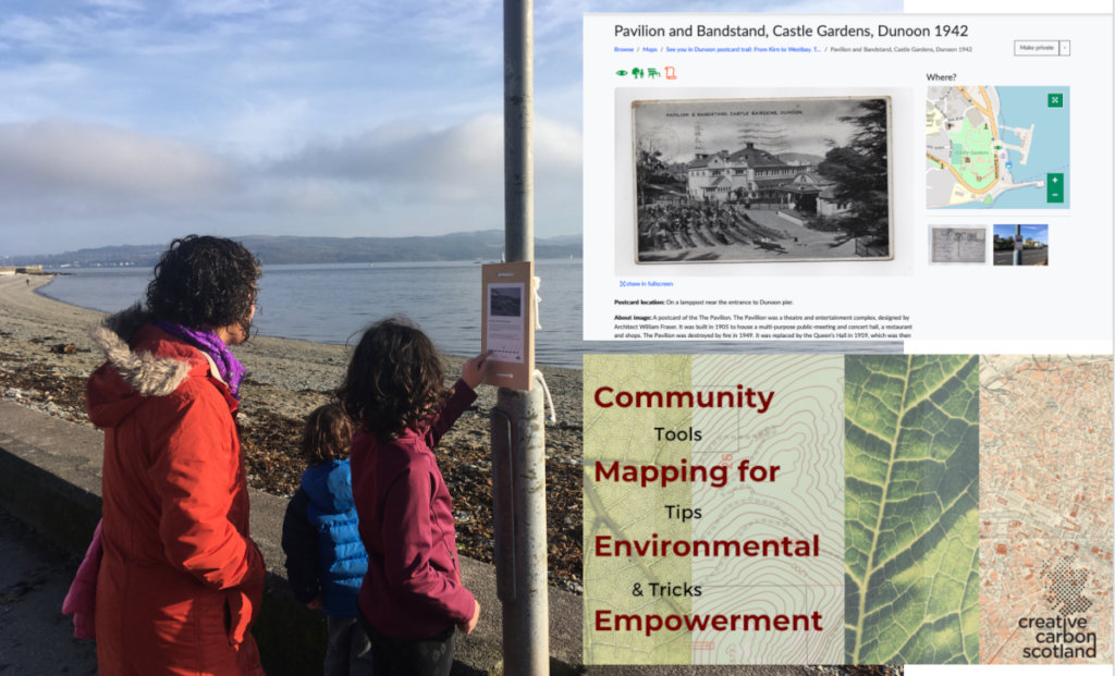 Dunoon Scotland's onsite -online Green Map Trail