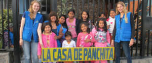 Child domestic workers at La Casa de Panchita