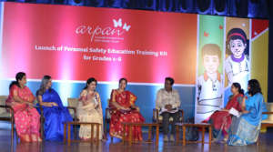 Principal's panel at the event