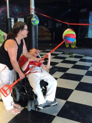 Inclusion means everyone is included in our Games