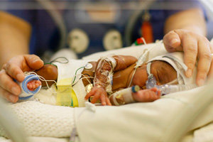 Help Families with a Sick Newborn Baby in Hospital