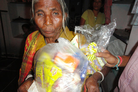 Provide Groceries for Destitute Elderly Persons