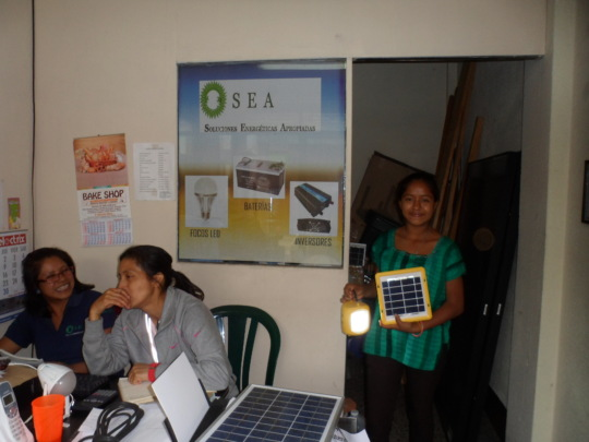Our women's solar business is growing!