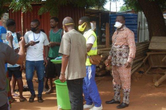 Sensibilization Campaign in Togo