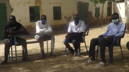 Youth Group in Chad