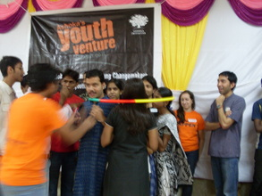 Group activity at a Youth Venture workshop