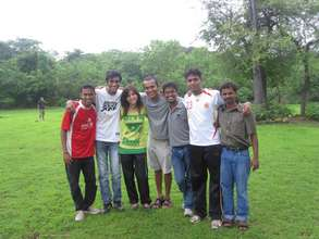 YV venturers who facilitated the event