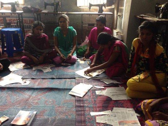 Sewing Center at Village Chattargach