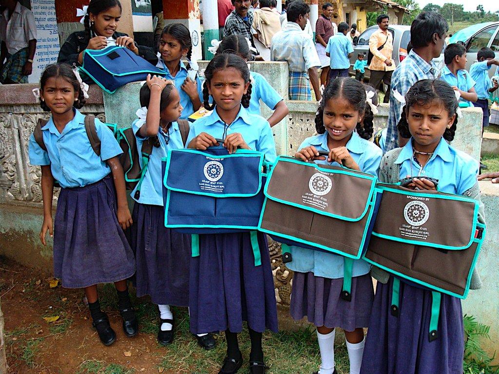 Sponsor School kits for needy Indian children-2015