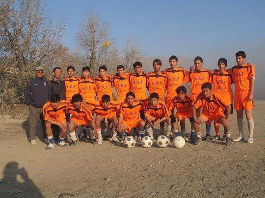 Afghanistan's Homeless World Cup Squad