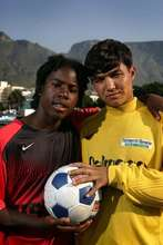 Afghanistan & USA Unite through football