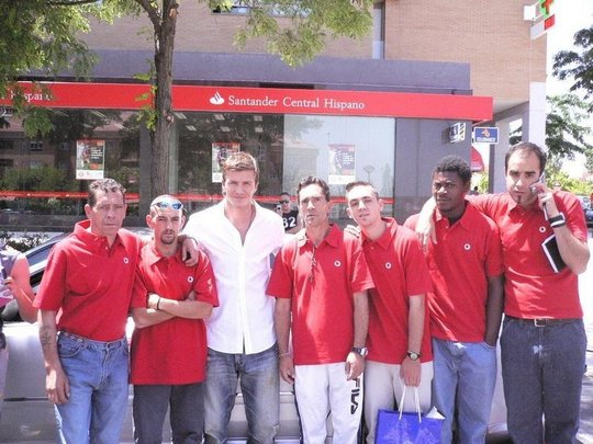 Meeting David Beckham