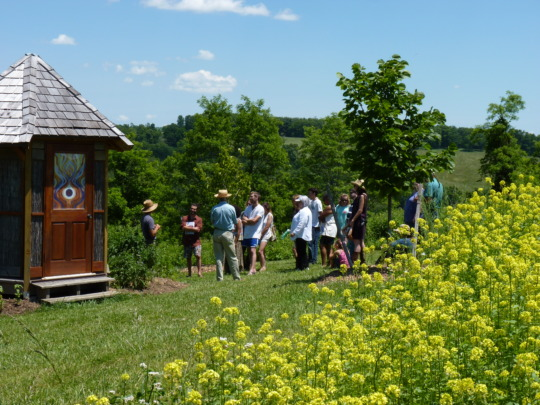 Visitors, tours, and classes--bee involved!