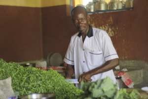 WISER gives nutritious meals to hundreds of girls