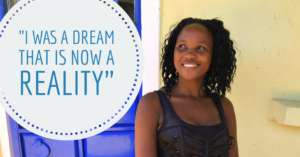 WISER alum, Millicent, has become a role model