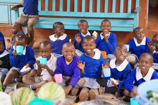 Feed 1,800 orphaned children in rural Kenya.