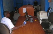 Colour printer for youth Internet cafe in Uganda