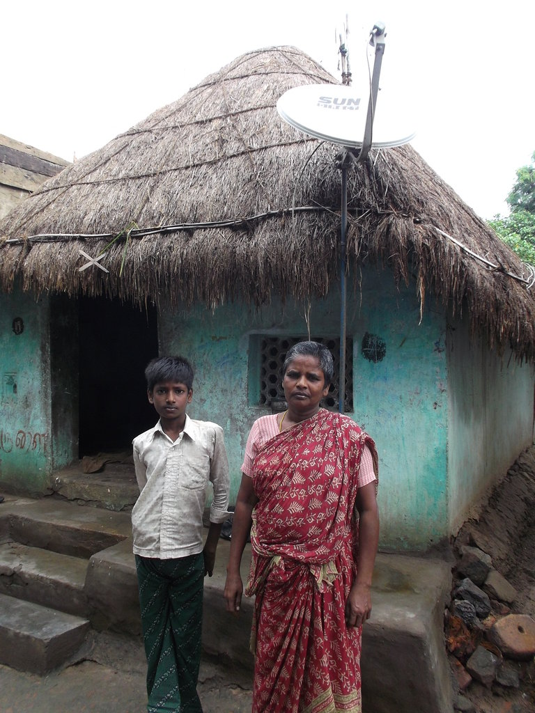 Building toilets for 300 poor families in India