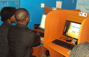Buy 06 computers for youth Internet cafe in Uganda
