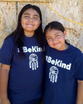 Aleena and Sierra #BeKind Campaign