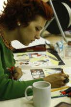 making changes through art (comics workshop)