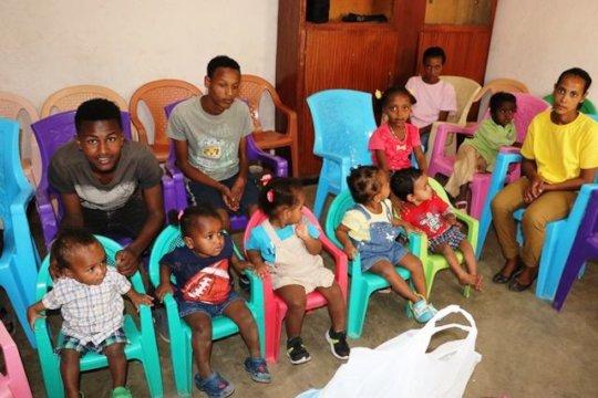 Children inside BMCH