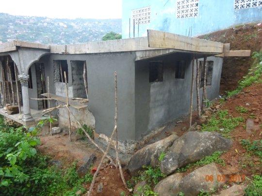 Orphanage Frontage & Veranda View