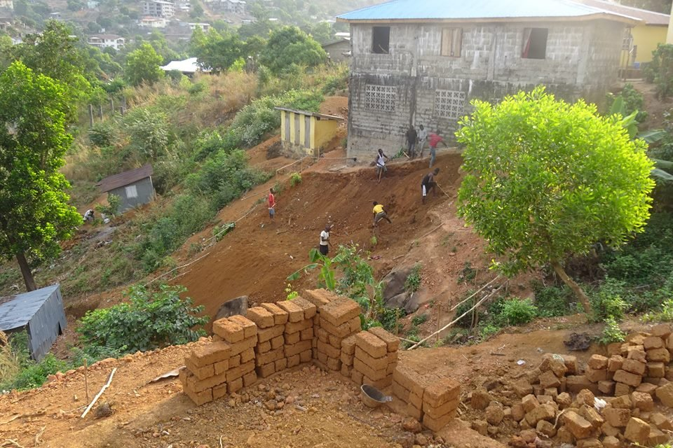Build a home for Ebola orphans in Sierra Leone
