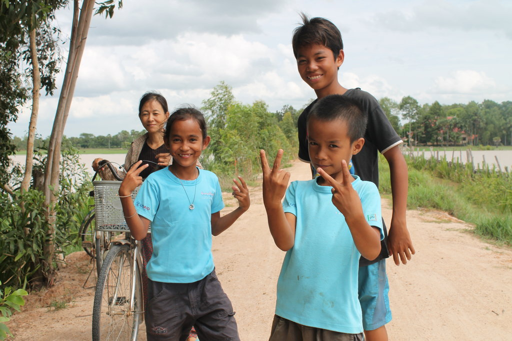 Provide Meals for 35 Children in Rural Cambodia