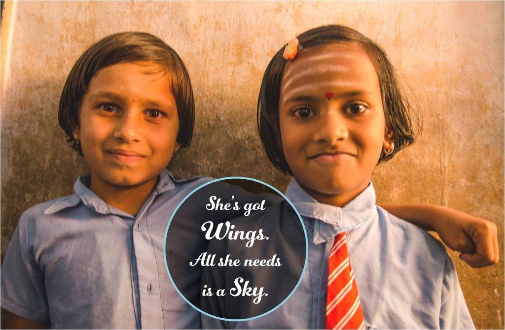 Help 361612 girl children realize full potential