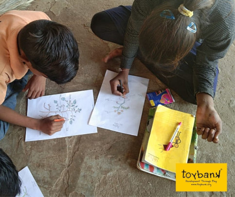 Children revise and recall parts of various plants