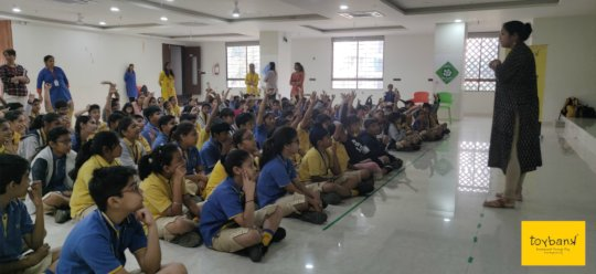 Awareness Campaign at a School
