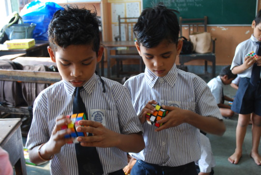 Intrigued with the Rubik's Cube!