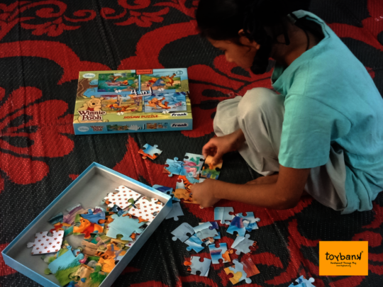 Developing Patience by solving a Puzzle