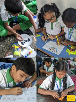 Play-based activities conducted by volunteers!