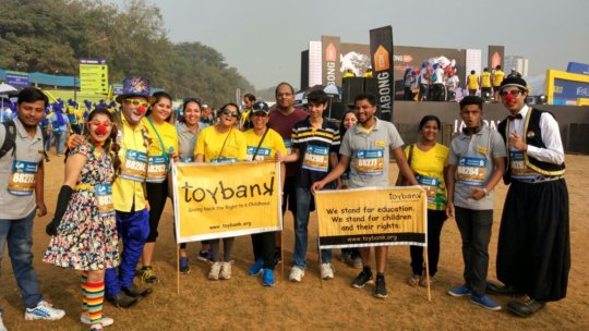 Toybank at the Standard Chartered Mumbai Marathon