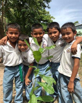 2018 FTPF school orchard planting in El Salvador