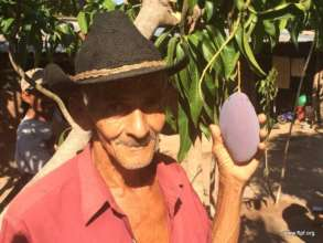 Co-op leader with his FTPF Mango Tree