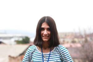 Lika Khutsiberidze, our project organizer!