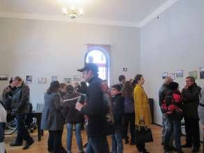 Many community members attended the event!