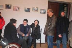 Tkibulians enjoyed the young people's artwork